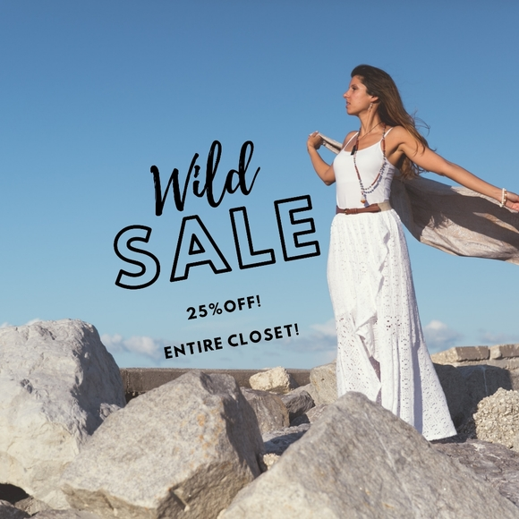 Anthropologie Other - Bundles of 4 = 25% Off ENTIRE CLOSET!